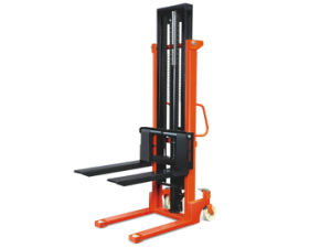 1t Manual Transport and Lifting Stacker Crane pictures & photos