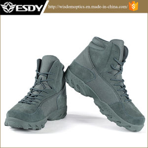 Green Military Tactical Army Boots for Outdoor Sports Use pictures & photos