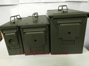 Magnum 3-Piece Metal Ammo Cans pictures & photos