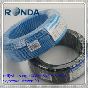 PVC Insulated Solid Copper Electrical Wire 0.5 0.75 1 SQMM pictures & photos