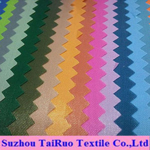 100% Nylon Oxford with PVC or PU Coating Fabric pictures & photos