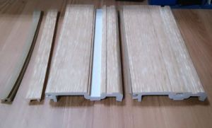 Wooden Flooring Accessories of Water-Proof New PVC Skirting Board pictures & photos