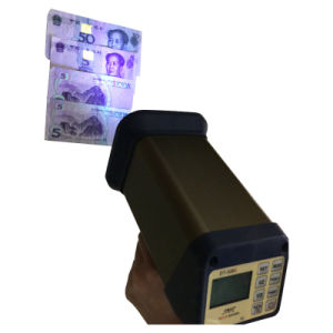 Rechargeable UV Stroboscope for Security Printing Features Detection