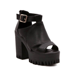 High Wedge Heel Shoes Fashion Lady Sandal (TM-win422)
