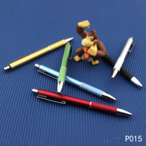 Fine Quality Nomal Color Plastic Pen with Logo pictures & photos