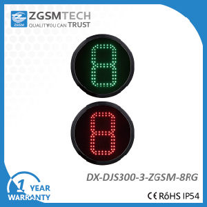1 Digital Countdown Timer 2 Colors Red Green Traffic Signal Light for Replacement Dia. 300mm pictures & photos