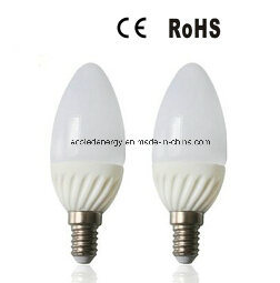 E14 4W Aluminium and Plastic SMD LED Candle Light pictures & photos