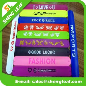 Novelty Color Kids Toy Ruler Bracelet Cheap Custom Snap Bands