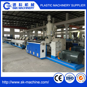 Large Diameter Plastic HDPE Pipe Hollow Tube Extrusion Extruder Line pictures & photos