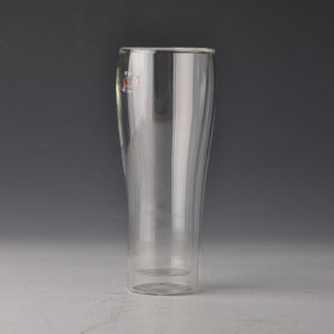 Borosilicate Double Wall Beer Glass Cup pictures & photos