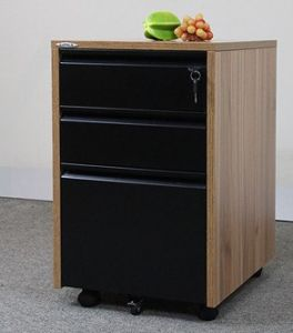 3 Drawers Wooden Mobile Pedestal