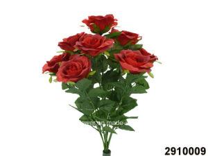 Artificial/Plastic/Silk Flower Rose Bush (2910009) pictures & photos