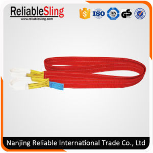 High Strength Polyester Webbing Strap for Lifting pictures & photos