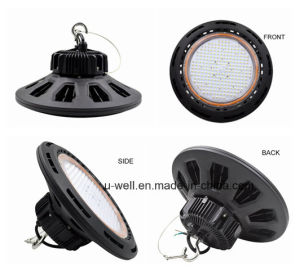 100W UFO LED High Bay Lamp with Philips SMD 3030 LEDs 5 Years Warranty pictures & photos