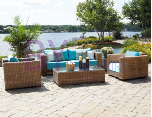 by-462 Garden Sofa Cheap Rattan Wicker Furniture pictures & photos