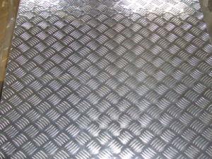 Cold Rolling 1100 3003 Aluminum Tread Plate
