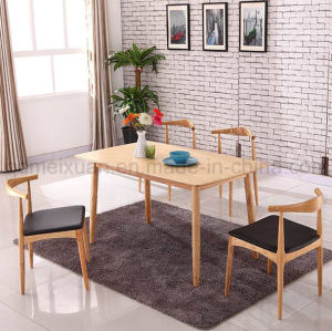 Solid Wooden Dining Desk Living Room Furniture (M-X2854) pictures & photos