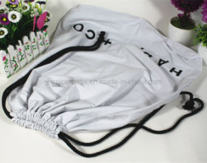 Wholesale Huge Capacity Canvas Drawstring Bag for Bedding pictures & photos