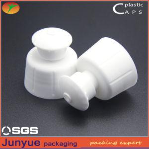Plastic Dishwashing Liquid-Regular Bottle Push Pull Screw Cap pictures & photos