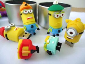 Cartoon USB Flash Drive Free Sample pictures & photos