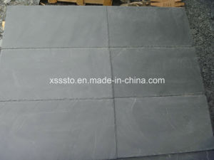 Natural Stone Black Slate Tiles for Roof/Flooring/Wall Panel pictures & photos