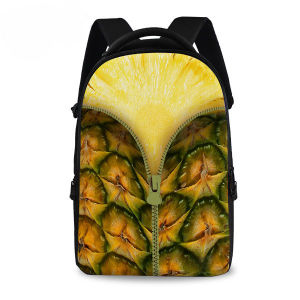 Durian Fruit Peels Backpack Metal Zipper Sh-15122107 pictures & photos