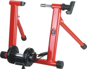Metal Red Powder Coated Mini Home Bike Trainers PV0010 pictures & photos