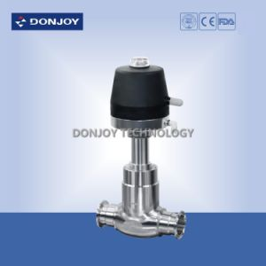 Sanitary Pneumatic Globe Valve with C-Top Controller pictures & photos