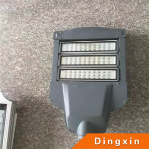 Solar 60W LED High Lighting Lamp with Tapered Painted Lighting Pole pictures & photos