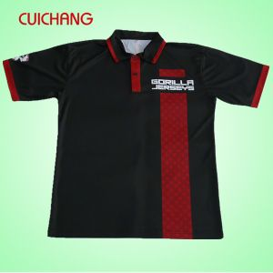 Custom Men′s Cotton Golf Polo Shirt with Own Embroidery Logo