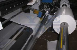 China Plastic Film Paper Slitter Rewinder with EPC System pictures & photos