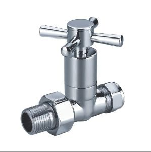 (HE-4004) Radiator Valve with Zinc, Aluminum or Plastic Handle for Water pictures & photos
