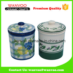 Home Decor Canister Ceramic Cookie Storage Jar pictures & photos