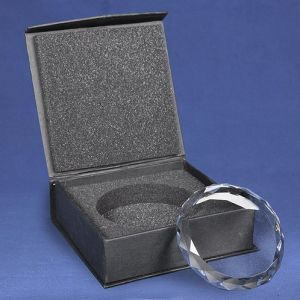 Diamond Cut Crystal Paperweight for Corporate Gifts pictures & photos