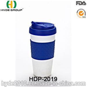Promotional Simple Coffee Mug Plastic Travel Mug (HDP-2019) pictures & photos