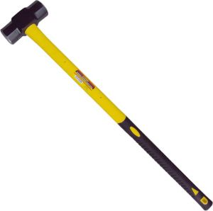 8lb Forged Carbon Steel Sledge Hammer with Fiberglass Handle pictures & photos