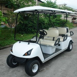 New Designed 6 Seats Electric Golf Car with Ce Certificate (DG-C4+2) pictures & photos