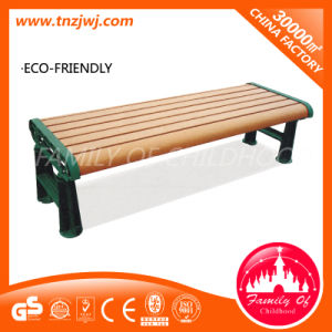 Low Long Chair Wooden Street Bench for Relax pictures & photos
