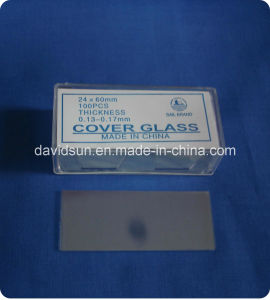 Laboratory Disposable Microscope Cover Glass pictures & photos
