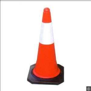 50cm Algeria Standard Plastic Orange Traffic Safety Cone pictures & photos