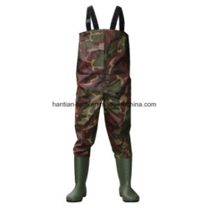 100% Waterproof Winter Fishing Tackle Fishing Wader with Boot pictures & photos