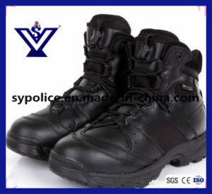 Tactical Gear Black Military Boots with High Quality (SYSG-559) pictures & photos