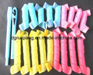 Colorful Different Types of Magic Hair Curlers Rollers Magic Leverag