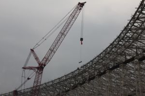 Prefabricated Steel Stadium Building Roof Structure Design pictures & photos