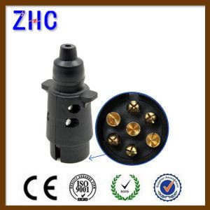 Towbar Electrics Adapter 7 Pin European Adapter Trailer Brass Insert Plug pictures & photos