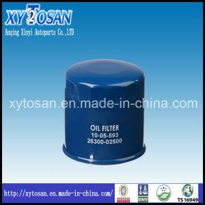 26300-02500 26300-02501 Oil Filter for KIA Hyundai Elantra Picanto Visto Automotive pictures & photos