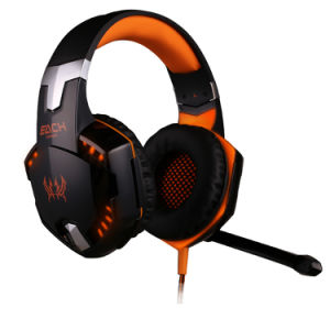 G2000 PC Computer Headphone Wired Gaming Headphone with LED Mic pictures & photos