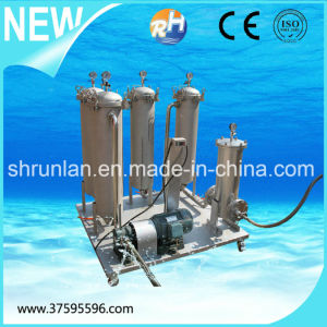 Stainless Steel Movable Two Stage Liquid Bag Filter