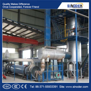 Specialist in Operation of Expanded Perlite Production Line Closed Cell Perlite Expansion Furnace - Sinoder Brand pictures & photos