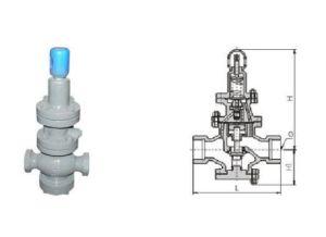 Y13h Pilot Piston Internal Thread Steam Pressure Reducing Relief Valve pictures & photos